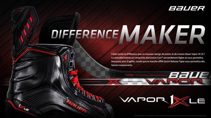 Bauer Edition Limitée - Black and Red - #Vapor1XLE