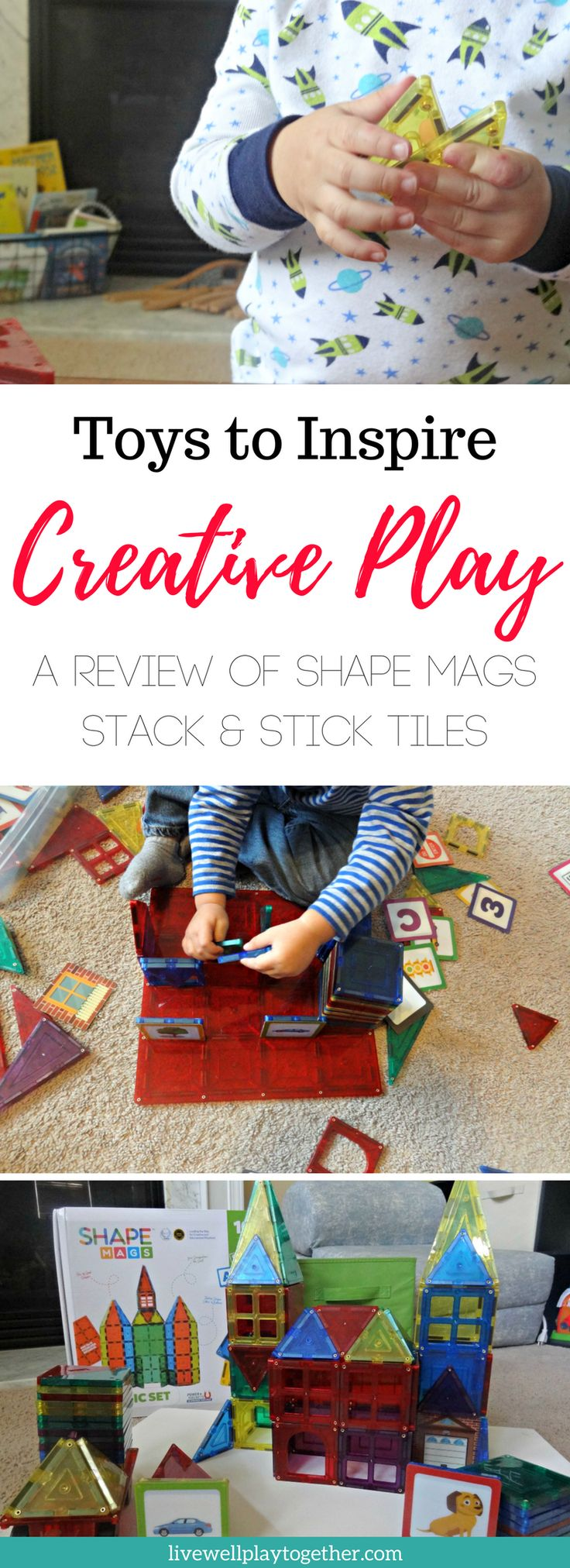STEM Toys to Inspire Creative Play: Shape Mags Review  Best Toys for Toddlers | Educational Toys | STEM Toys | Magnetic Tiles | Preschool Toys | Gift Ideas for Toddlers | Gift Ideas for Preschoolers