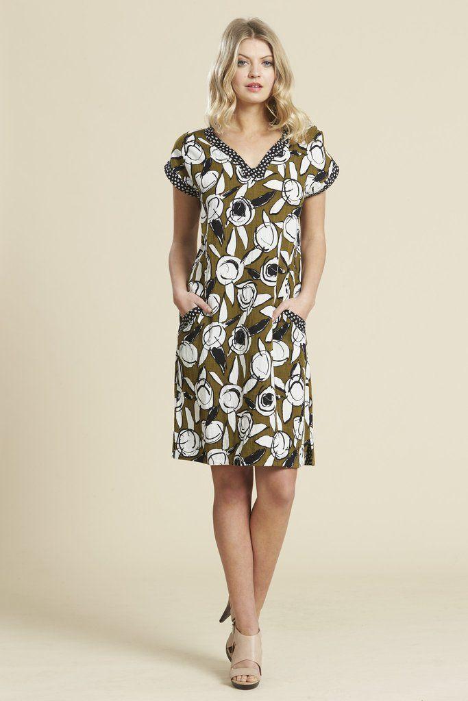 Scope Island Dress