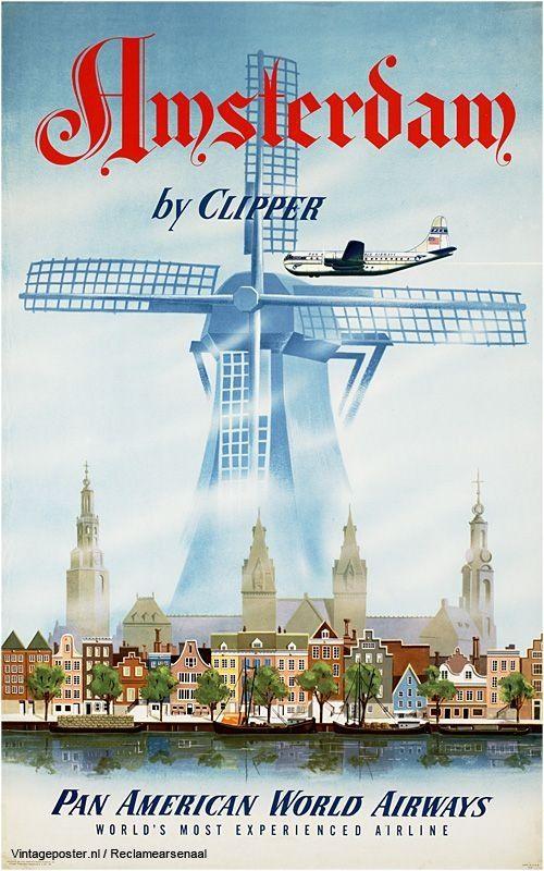 Holland via Pan American Airlines, AMSTERDAM - Mai 2013