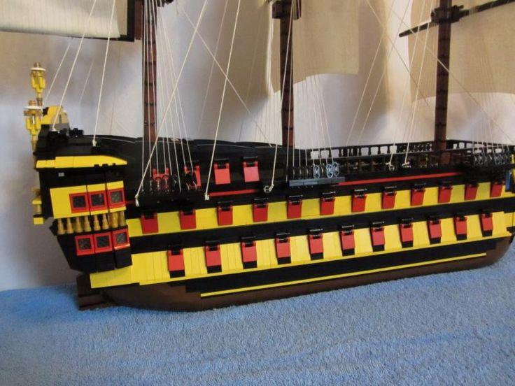 Lego HMS Agamemnon