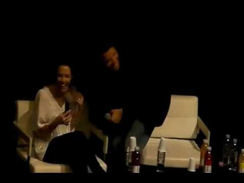 Credit to Tita094. Heaven In Hell Convention- Alona Tal and Misha Colins Panel. I was surfing around on the internet looking at some covention of Jensen, Alo...