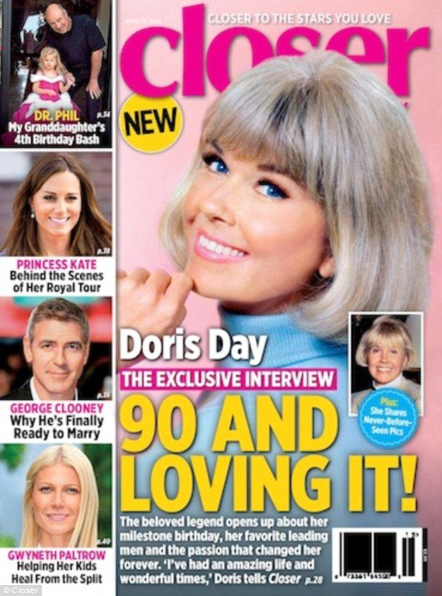 Doris Day reflects on last 90 years as she celebrates birthday ...