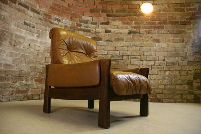 lederstühle lederstuhl retro sessel design sessel design sessel leder wohnzimmer einrichten