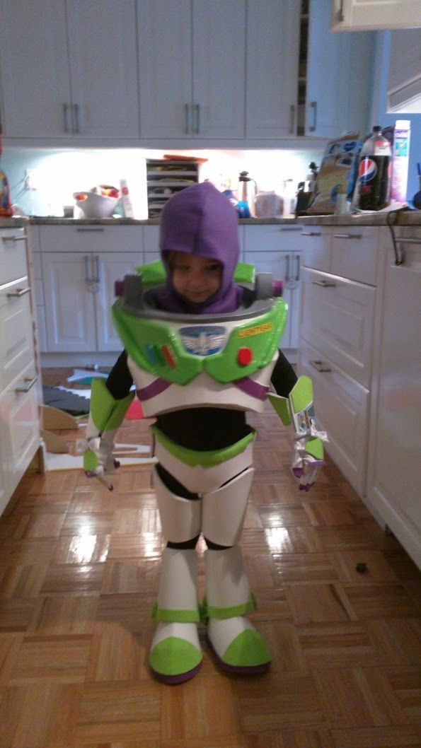 Buzz Lightyear Costume For My 2 Year Old Buzz Lightyear