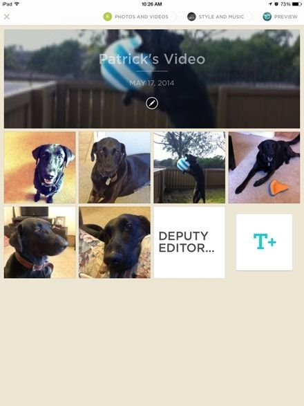 iPad App of the Week: Animoto Video Maker