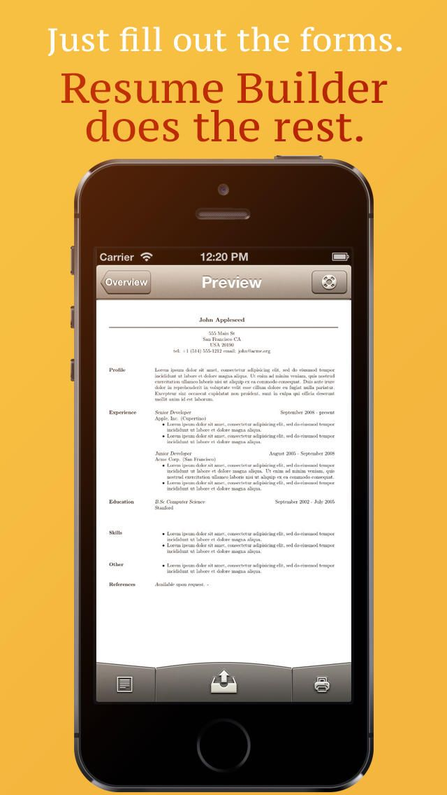 39 Best Images About Resume/Cv Apps On Pinterest   Professional
