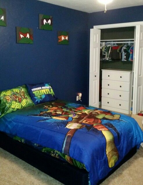 Superb Ninja Turtle Room Diy
