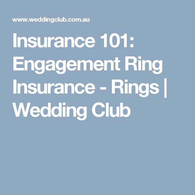 Great Insurance Engagement Ring Insurance Rings Wedding Club