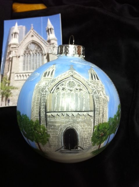 Your church...A wonderful wedding gift. Christmas gift for clergy.