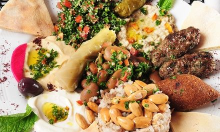 Six-Course Lebanese Feast for Two at Hello Dolly Lebanese, St Peters for $39