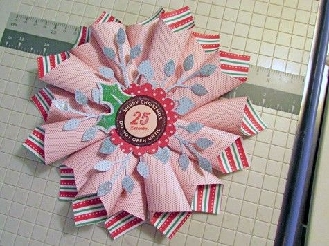 Paper ornament tutorial by Ashley Horton on the AC blog.