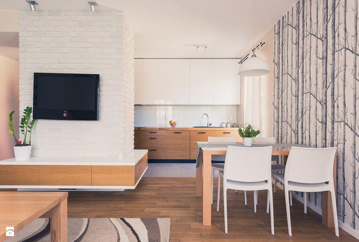 Salon styl Skandynawski - zdjęcie od The Origin - Interior Design - Salon - Styl Skandynawski - The Origin - Interior Design