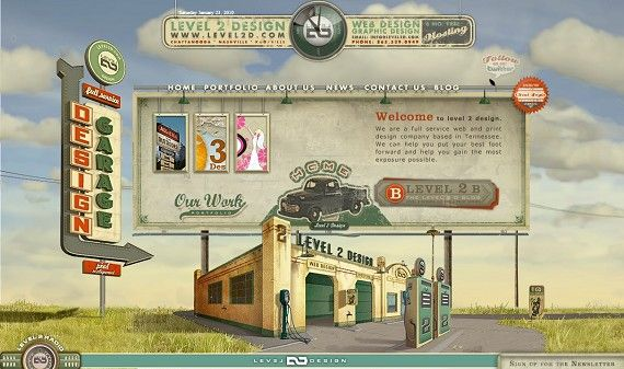 The 35 Most Amazing & Beautiful Websites in 2011