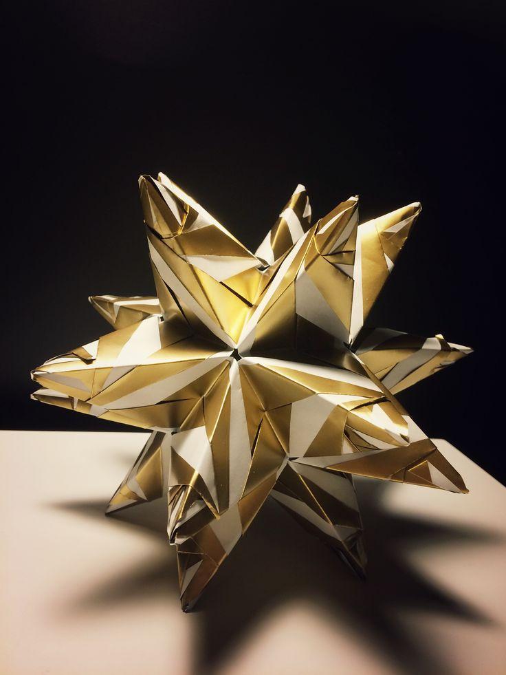 kusadama modular origami http://kusudama.me