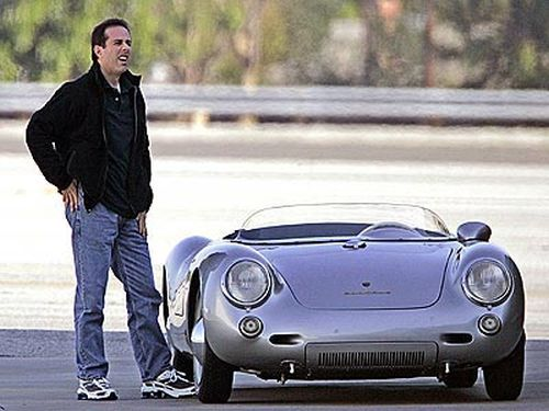 jerry seinfelds porsche 550 spyder what i would do for 15 minutes and some open - Porsche Spyder 550