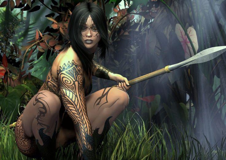 "Black Ladies Warriors | Amazon Warrior Woman""....."