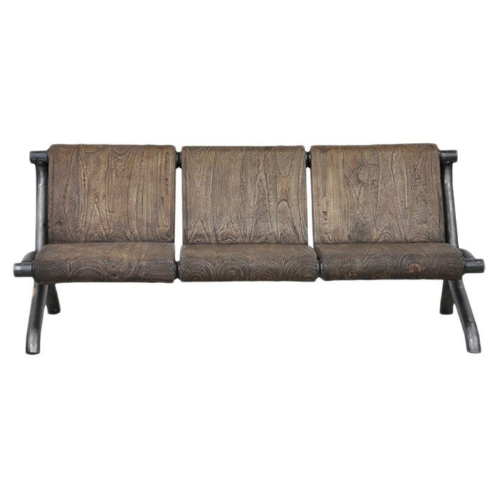 ARCHER SOFA wood sofa