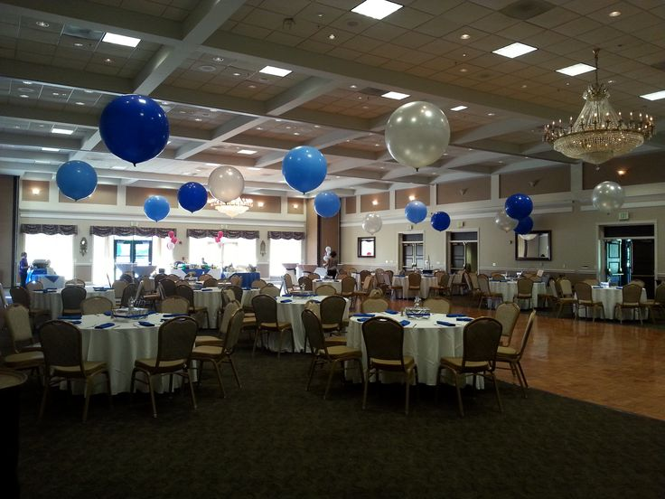 3 Balloon Centerpieces Ten Oaks Ballroom Clarksville