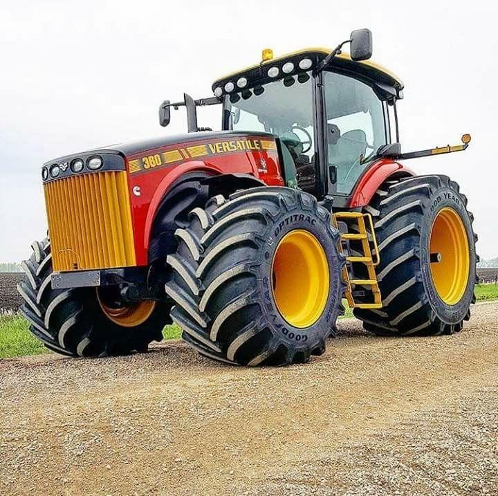 Große Landmaschinen