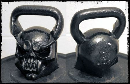 Bad ass kettle bells  #crossfit