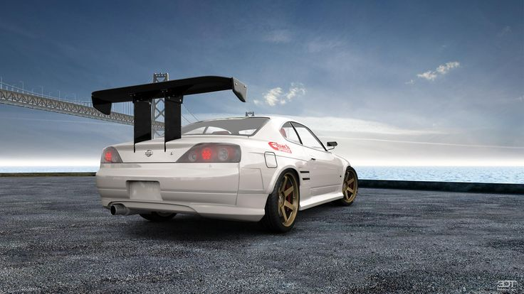 Checkout my tuning #Nissan #SilviaS15 1999 at 3DTuning #3dtuning #tuning