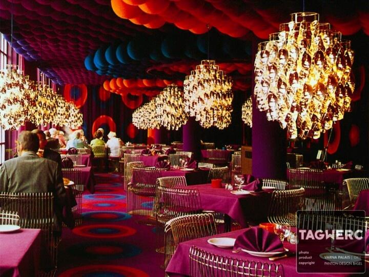 46 best Verner Panton images on Pinterest Futuristic interior - designer kantine spiegel magazin