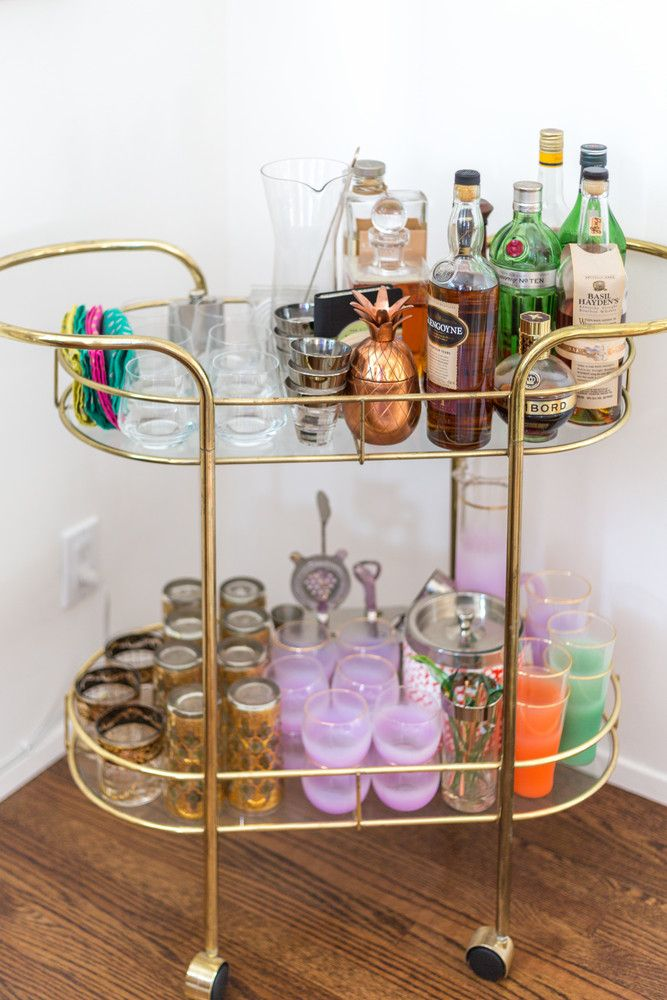 25 Best Ideas About Bar Cart Styling On Pinterest Bar