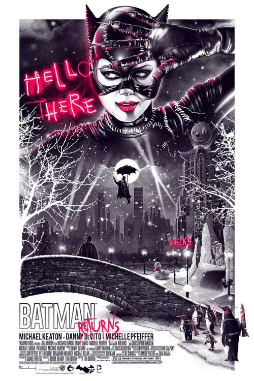 Batman Returns by Movie Poster Movement