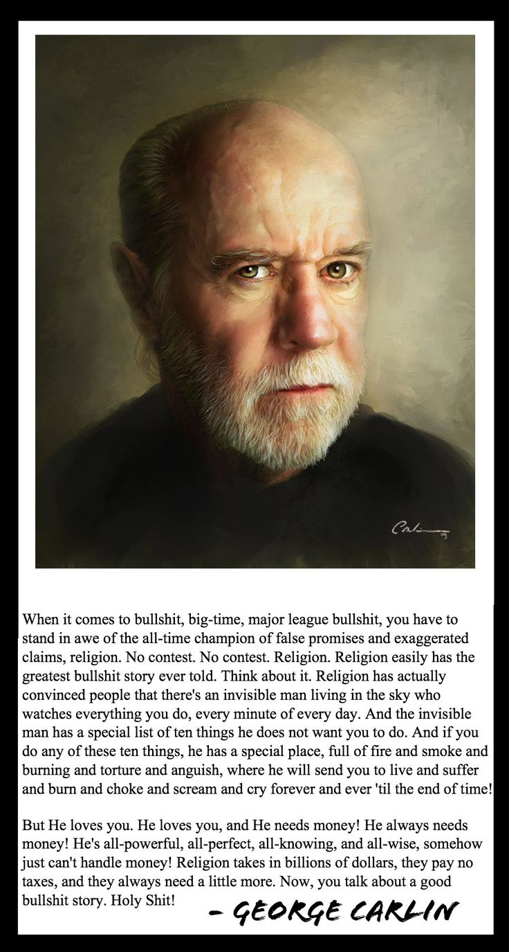 george carlin essay George carlin's comedy and the battle of censorship the fcc v pacifica foundation: government regulations on radio broadcasting in 1978 a radio station owned by.