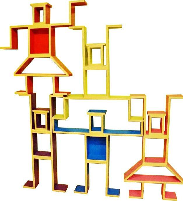 MORE Shelf Bots mean modular & FUNctional...