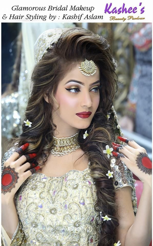 Beautiful Bridal Hairstyles : 81 best kashees bridal makeup images on pinterest