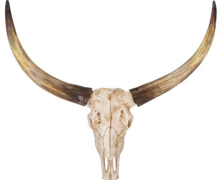 Bull Skull - Een echte eyecatcher voor jouw stoer-landelijke of industriele interieur - Goossens wonen & slapen