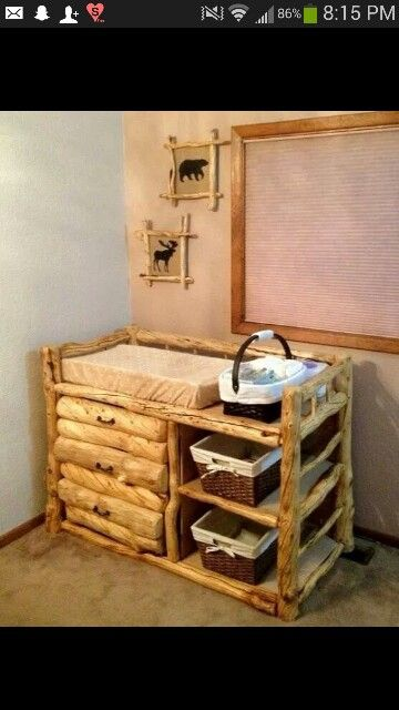 Cutest changing table EVER