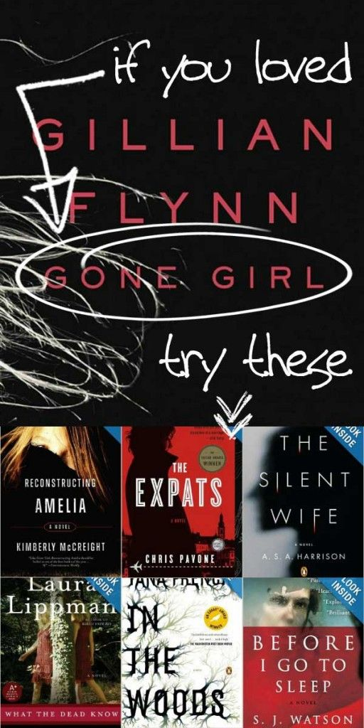 7 Book Suggestions If You Loved Gone Girl via Tipsaholic.com #books #reading