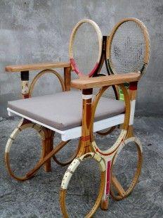 raquettes de tennis fauteuil : Meubles et rangements par algc-concept