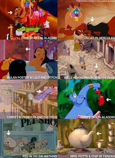 did you notice these before? Disney