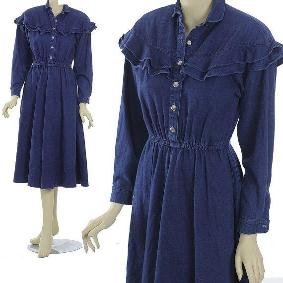 Hey, I found this really awesome Etsy listing at https://www.etsy.com/listing/221129763/boho-denim-dress-hippie-dress-boho-dress