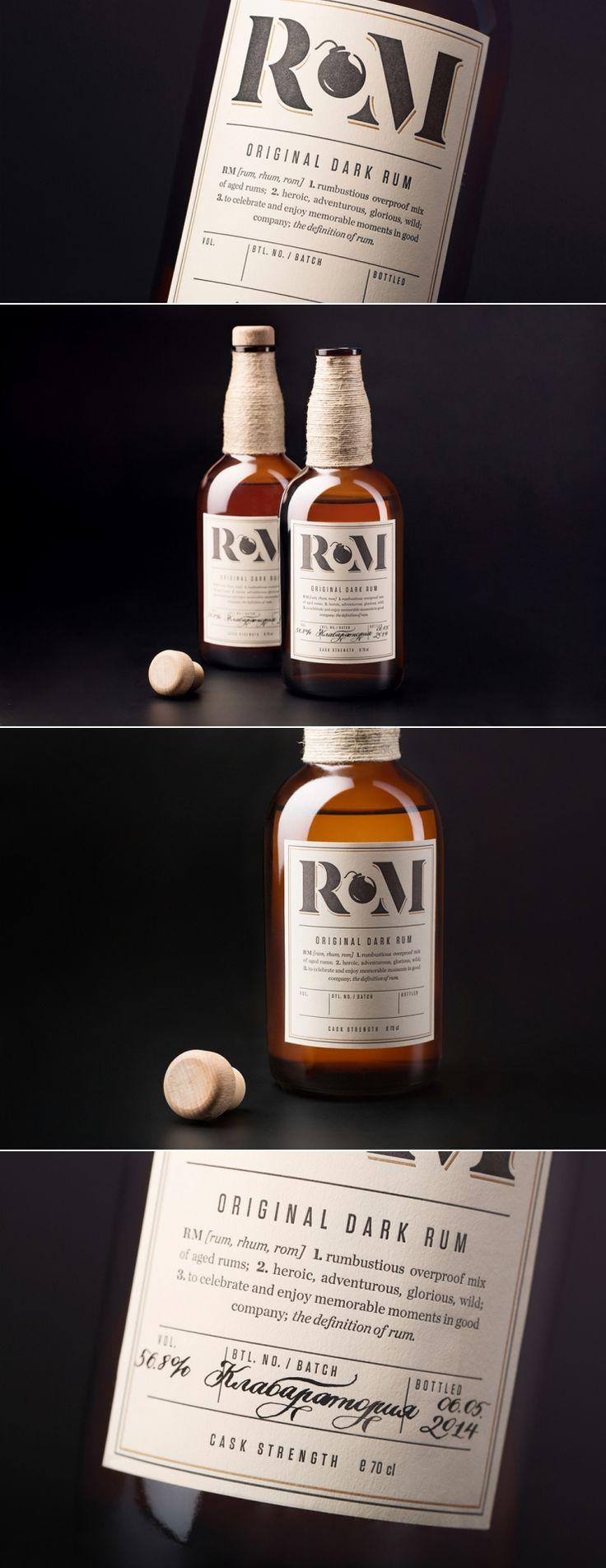 RM Rum — The Dieline | Packaging & Branding Design & Innovation News