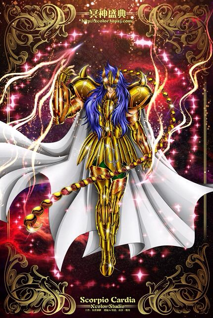 Saint Seiya - The Lost Canvas - Scorpio Cardia