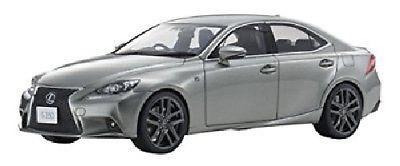 Kyosho SAMURAI 1/18 Scale Lexus IS350 F Sport Sonic Titanium Diecast Car