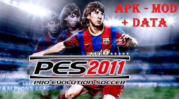 Download PES 2011 Pro Evolution Soccer Apk For Android