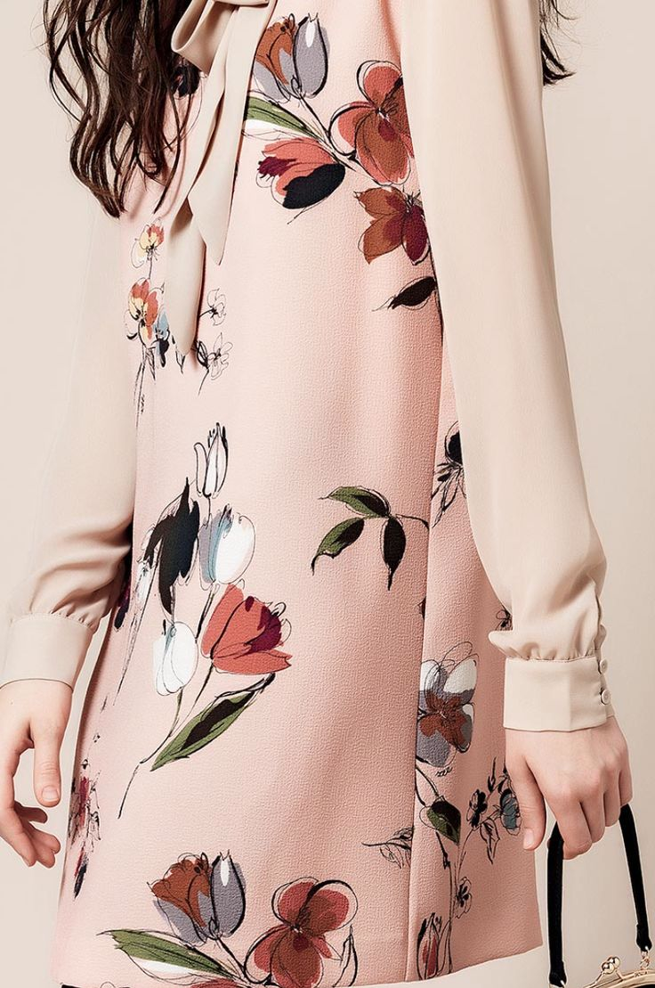 floral dress_ http://www.twinset.com/eng/look-book/fw15/scee/1