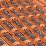 telhas solares das empresas Area Industrie Ceramiche e REM.