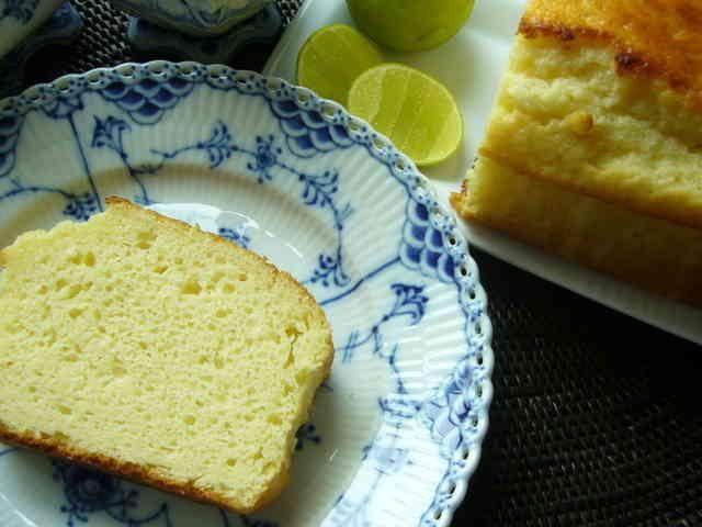 ホットケーキミックスで爽やかレモンケーキの画像