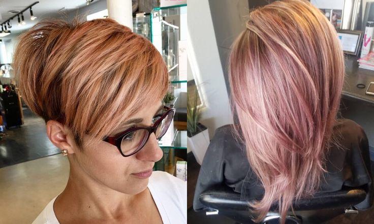 30 idee di capelli rosa-oro per tutte le donne! ,     I capelli rosa-oro sono una delle mode più popolari degli ultimi anni, anche se nei tempi a noi più recenti sono stati parzialmente trascurati e...