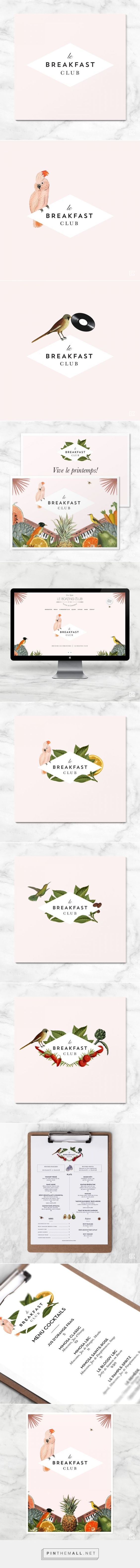 Le Breakfast Club Branding on Behance | Fivestar Branding – Design and Branding Agency & Inspiration Gallery