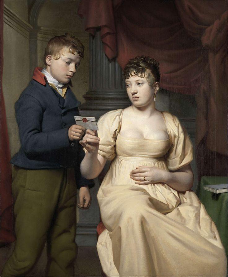 The Love Letter, Willem Bartel van der Kooi, 1808