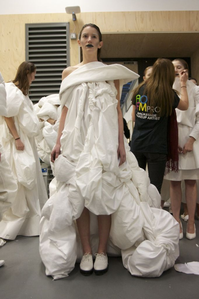 Backstage at the 2012 White Show | Fashion, Inside CSM, Projects | 1 Granary1…