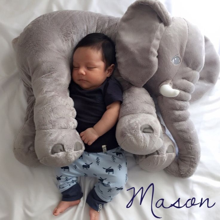 plush toy pillow for baby sleeping